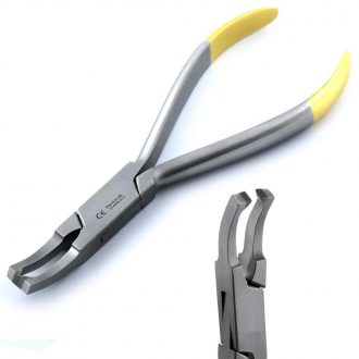 Dental Curved Bracket Remover Plier Tungsten Carbide Tip